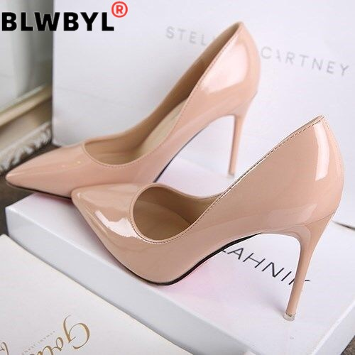 2020 New Women Wedding High Heel Shoes Dress Platform Pumps Ladies High Heels Woman Party Shoe Pump Shoes Chaussure