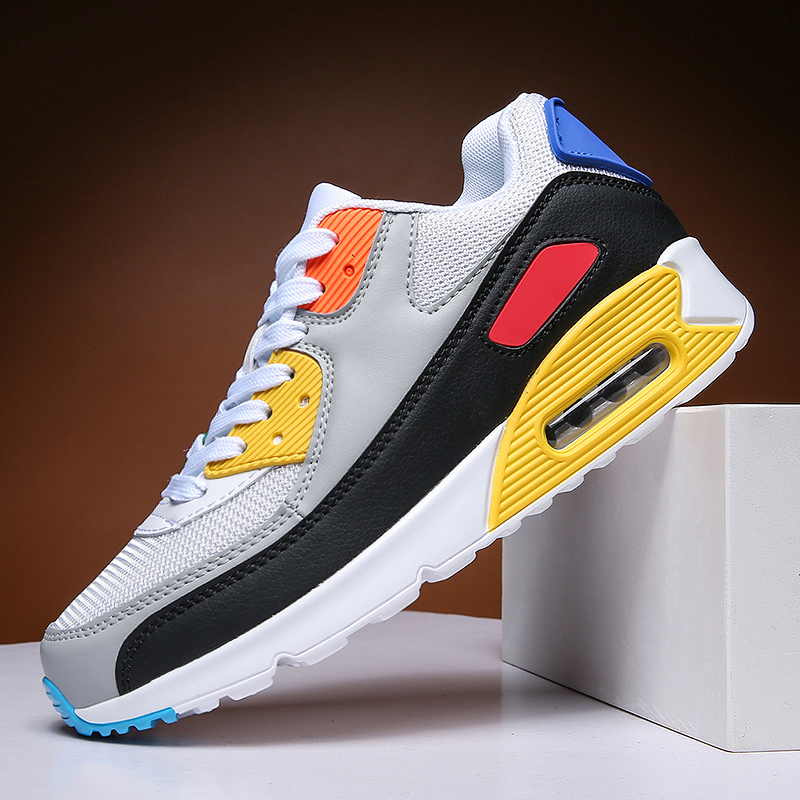 Training-Sneakers Sports-Shoes Mesh Air-Cushion Wear-Resistant Tennis Non-Slip Outdoor