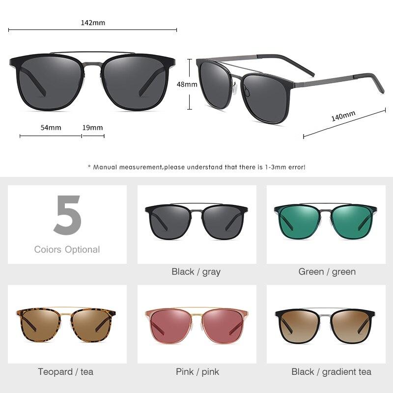 Lm Модные поляризованные солнцезащитные очки для мужчин и женщин