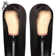 ポーカーフェイスストレート 13 × 6 レースフロント人毛かつら 8 28 30 インチ見えない偽の頭皮かつらブラジル前頭かつら非レミーの髪