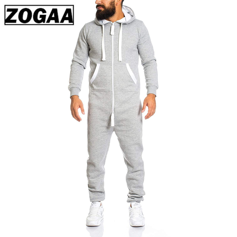 ZOGAA 2020 Men Sets Brand New Men's Casual Sets Fashion Color Block Rompers Tracksuit For Men Sweatsuit Male Outfit Sportswear