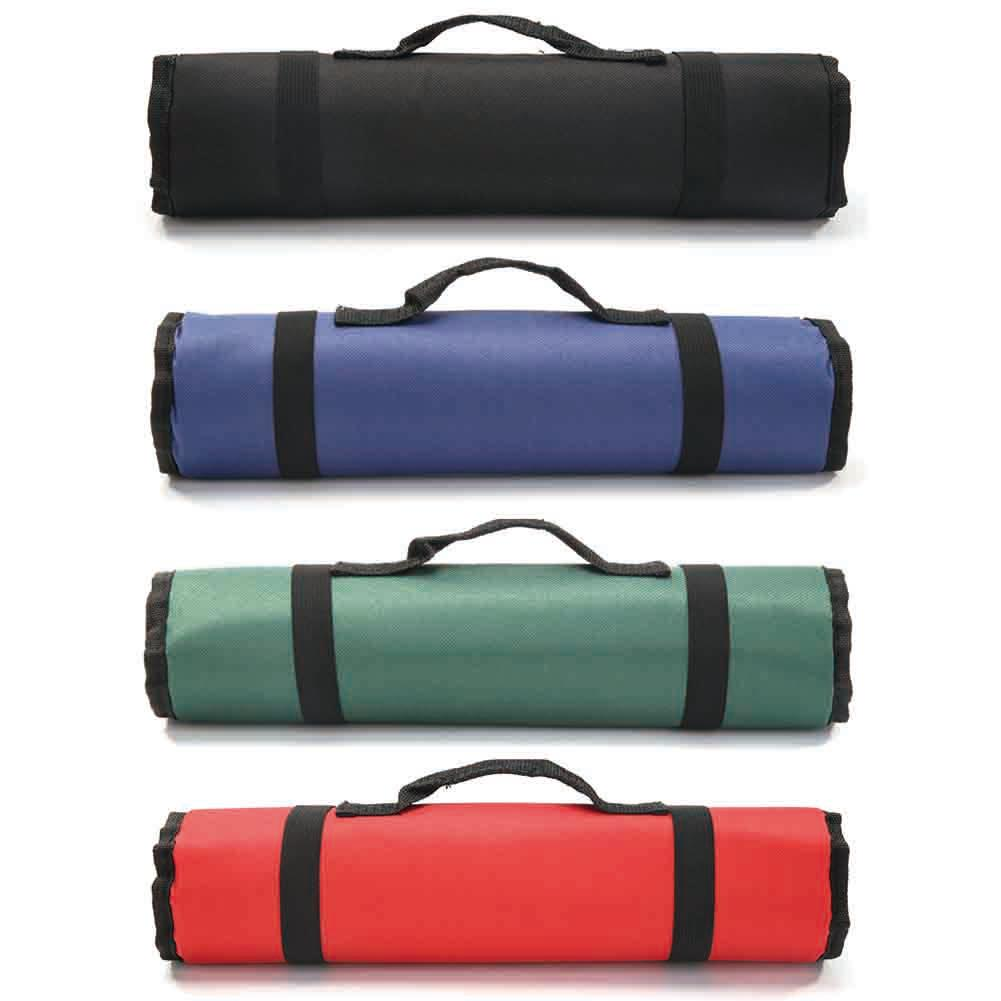 Waterproof 600D Oxford Storage Bag Cloth Metal Hardware Fittings Hand-held Drum Type Large Size Wear-Resisting Organizer Pouch