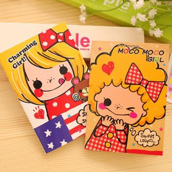 ¡Novedad! mini cuaderno de dibujos animados kawaii Bloc de notas planificador diario 2020 Cuadernos de lácteos para estudiantes suministros de papelería escolar barato