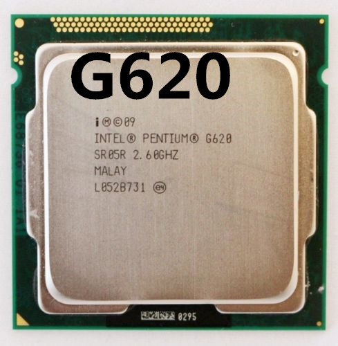 Intel Pentium G620 2.6 GHz Dual-Core CPU Processor 3M 65W LGA 1155