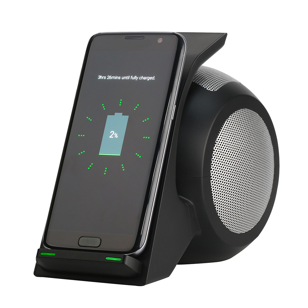 FAST Qi Wireless Charger Car Mount for IPhone X XR 8 Fast Wireless Charging Car Phone Holder for Sa