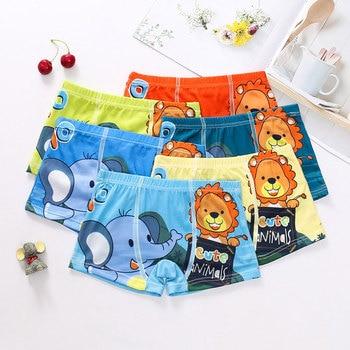 10pcs/Lot Boys Boxer Briefs Kids Underwear Baby Boy Underpants Cartoon Print Soft Children Panties 2-9 years Super Hero 2020 New - random color-5, 24M