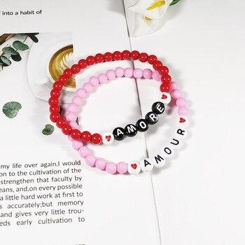 Perle Lettre Pour Bracelet