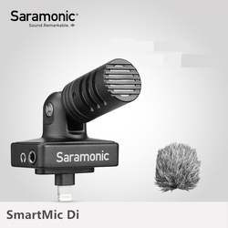 Saramonic SmartMic Di Stereo Digital Condenser Video Mic for IOS iPhone iPad Mini Clear Recording Video Vlog Live Broadcast Mic