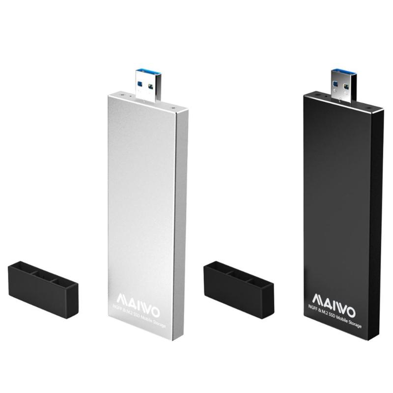 MAIWO K17N USB3.0 To SATA M.2 NGFF HDD SSD Case M.2 Usb External Hard Disk Drive Enclosure Adapter Box