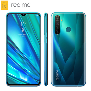 Перейти на Алиэкспресс и купить Мобильный телефон Realme 5 Pro, 4 ГБ/8 ГБ ОЗУ 128 Гб ПЗУ, Восьмиядерный процессор Snapdragon712, 6,3 дюйма, 1080x2340P, 4035 мАч, две sim-карты, Android