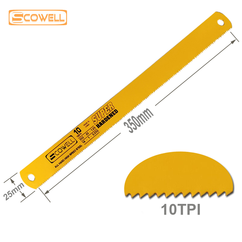 30% Off 350*25*1.25mm HSS Power Hacksaw Blades Full Hard 10TPI Suitable For Machine Use Machine Steel Saw Blade Band Saw Blades