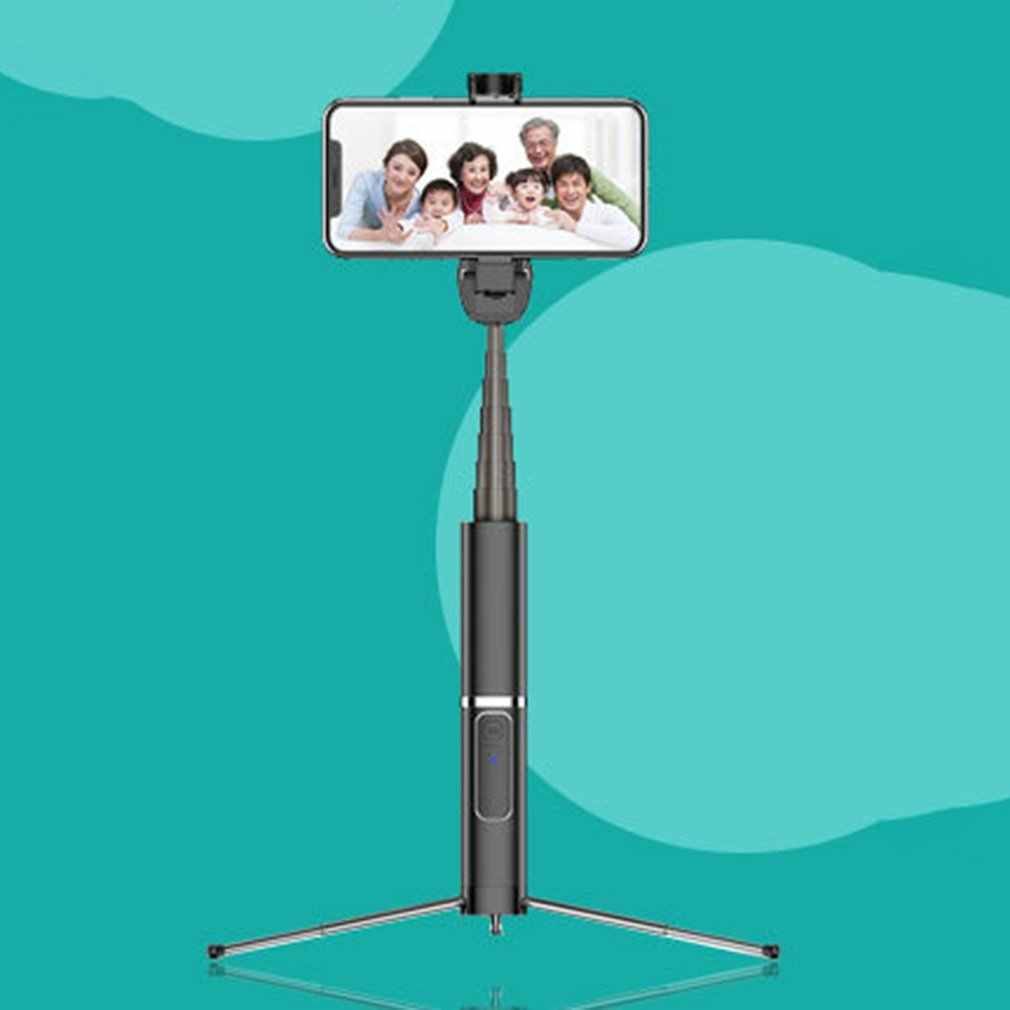 Integrated Tripod Selfie Stick Phone Bracket Wireless Button Phone Self-timer Lever Holder For Smart Phone