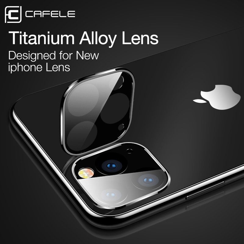 Cafele Back Camera Lens Tempered Glass For IPhone 11 Pro Max Rear Screen Protector Protective Film For IPhone 11 Pro Max 9H Hard