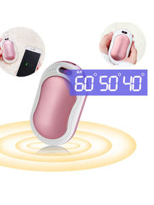 10000mAh 4 In 1 USB Rechargeable Electric Hand Warmer Double-Side 5s Heating Mini 5V