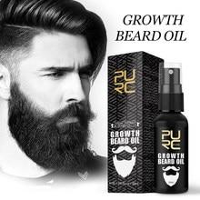 Olejek do brody PURC wzrost broda grubsze i bardziej pełne zagęścić olejek do brody dla mężczyzn broda pielęgnacja pielęgnacja pielęgnacja brody
