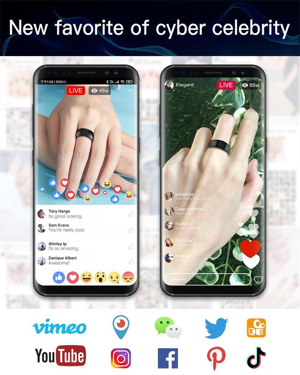 smartwatch t5 ip68 nrf52832 2020