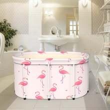 Портативная Складная Ванна с крышкой утолщенная надувная из