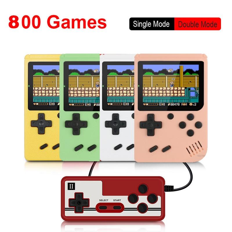 Console de jeu vidéo rétro Portable, 800 jeux en 1, cadeau pour enfants