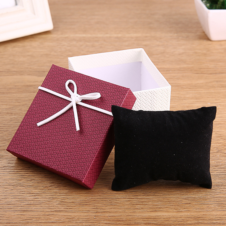 New Style Fashionable Watch Gift Box Paper Gift Box Customizable Printed Alone Buy Box Does Not Make Shipment