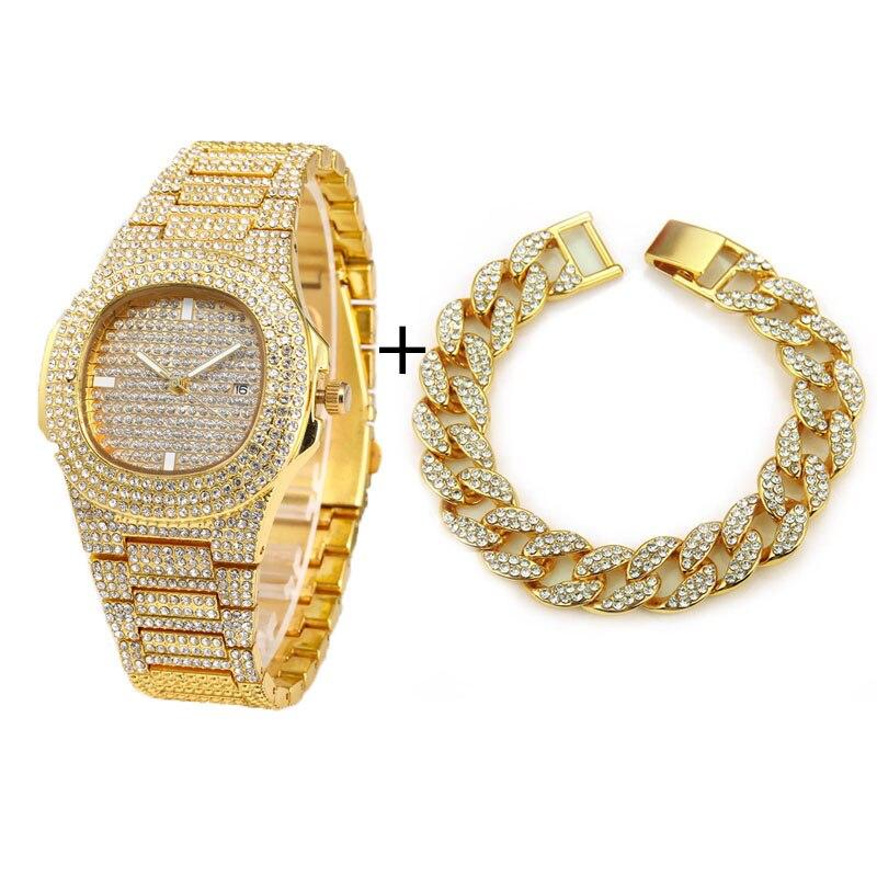 Gold Watch Bracelt
