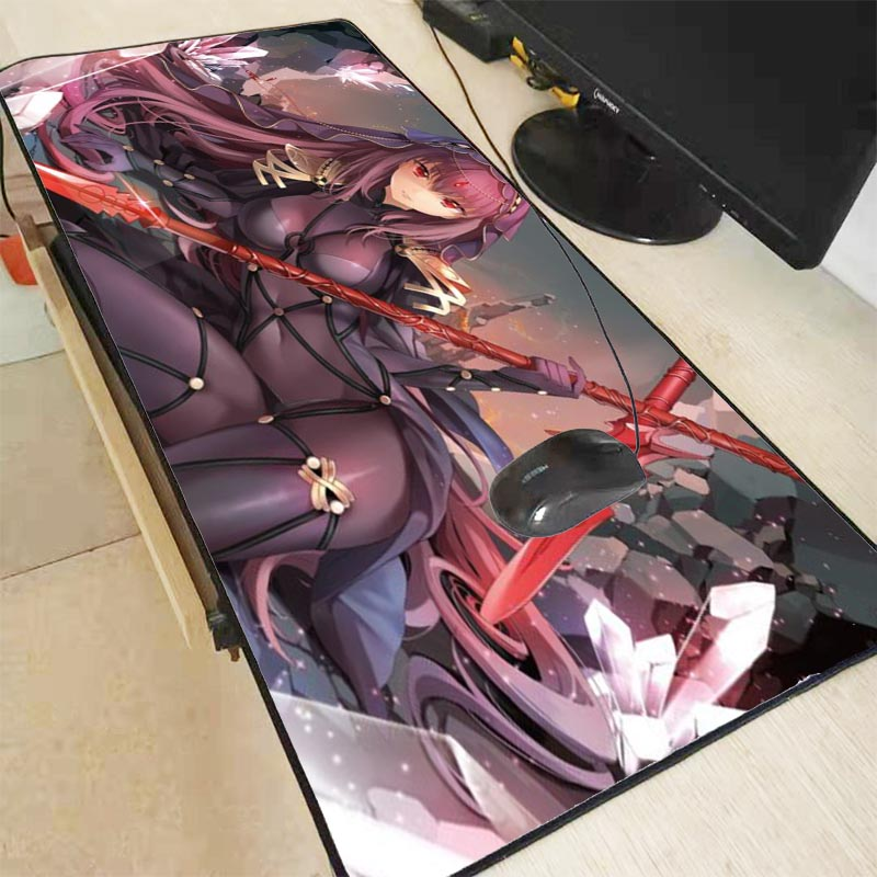 Mairuige Anime Sexy Girls Fate Grand Order  Large Gaming Mouse Pad Gamer Big Mouse Mat Computer Mousepad Keyboard Desk Mat Game