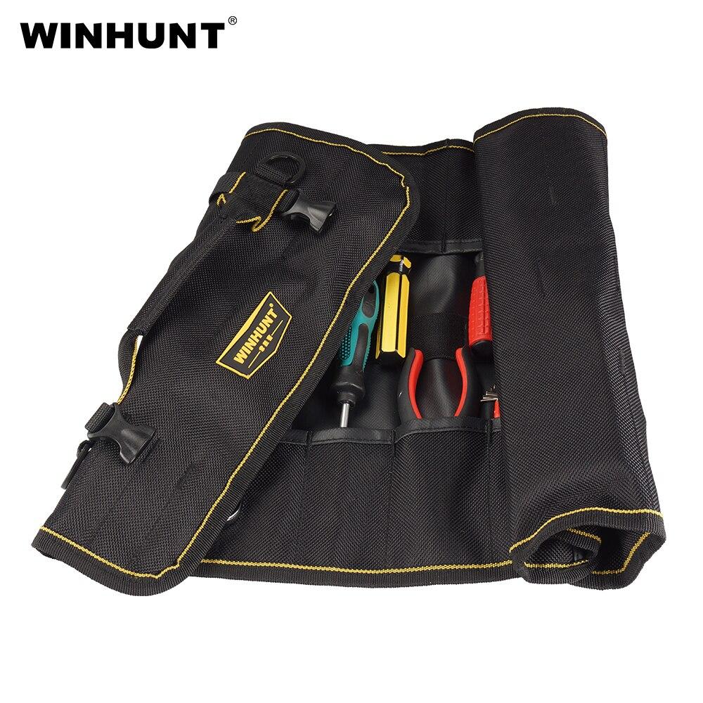 Winhunt 2020 Multifunctional Oxford Canvas Waterproof Roll Bag Rolling Repairing Tool Utility Bag Practical With Carrying Handle