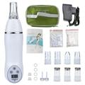 Цифровая алмазная ручка для микродермабразии, вакуумный массаж, пилинг кожи, лечение акне, удаление черных точек, очищающее средство