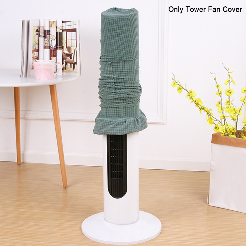 Floor Standing Guard Tower Fan Cover Protective Anti Dust Solid Full Coverage