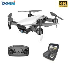 Teeggi X12 FPV RC Drone 4K Camera Optical Flow Selfie Dron Foldable Wifi Quadcopter Helicopter VS VISUO XS816 SG106 SG700 M69
