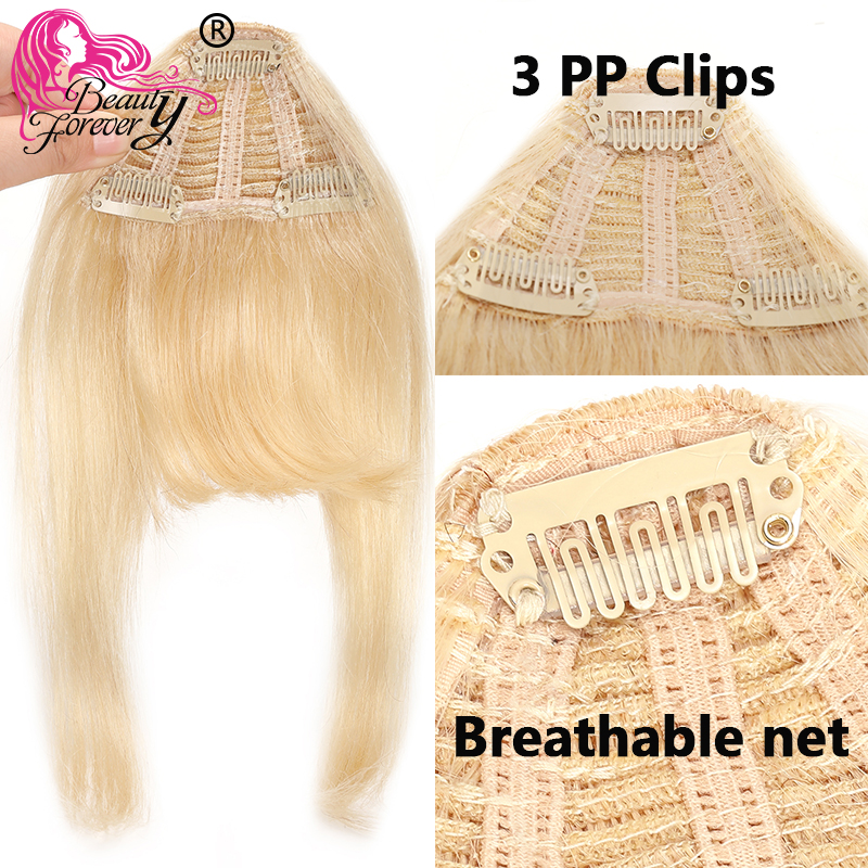 Big SaleHair-Extension Fringe-Hair Bangs Beauty Forever Brazilian Clip-In Piece Neat Remy Frontæ