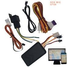 Perseguidor do GPS do carro localizador GT06N veichle traker monitor de voz sos dispositivo de rastreamento de gestão de frotas