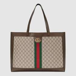 Gucci Einkaufstaschen Ophidia GG Tote Tasche 547947 9IK3T 8745 Frauen Schulter Tasche Weiblichen Große Totes Handtaschen Frauen