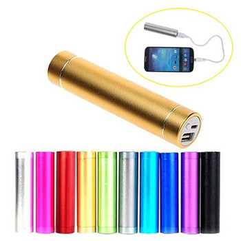 Portable External USB Power Bank Box 2600mAh 18650 Battery Box DIY USB Mobile Phone Power Bank Charger Pack Box Battery Case image