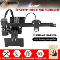 Desktop Single Arm Laser Engraving Machine Portable Wood Router Engraver DIY Engraving Carving Machine Mini Carver Printer Laser