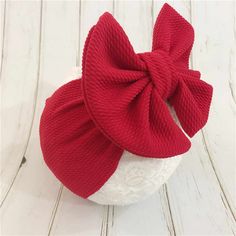 Baby Girl Headbands Newborn Hairband Baby Headband Bandeau Bebe FilleToddler Fabric Bow Knot Headwraps Turban Headwear Accessory