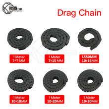 Drag-Chain Carrier-Cable Router 10--20mm/10--30mm Machine-Tools L1000mm 3d Printer 1M