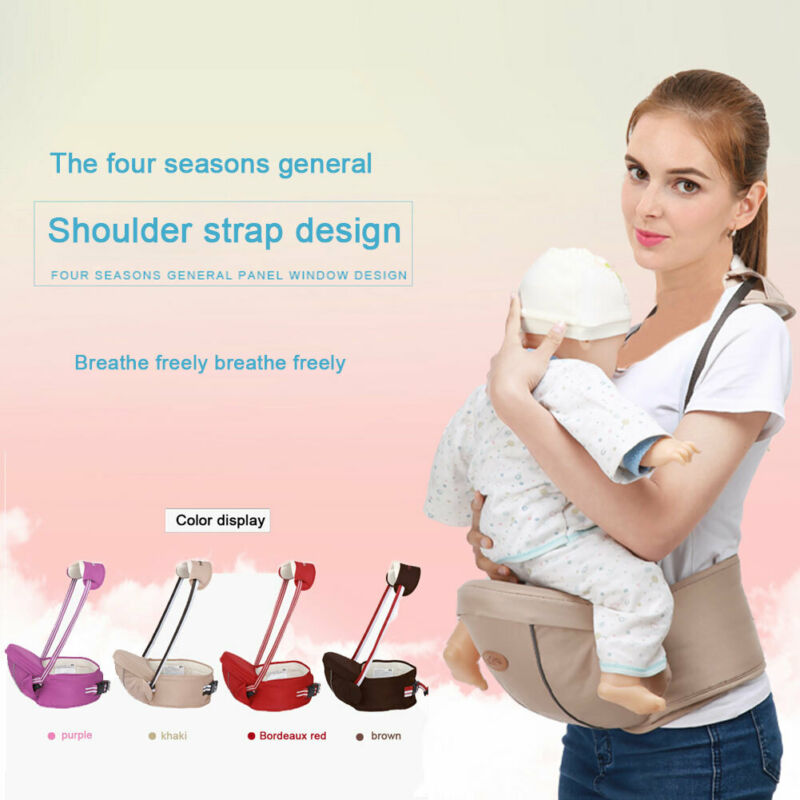 Goocheer Trendy Baby Kids Toddler Carrier Bag Waist Stool Walker Baby Sling Belt Kids Newborn Hold Hipseat One Pieces