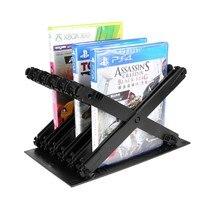 Spiel Disc Lagerung Regal Rack Box Halterung Halter für PS4 PS5 DE X BOX Stehen 35EA