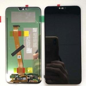 Image 2 - Сканер отпечатка пальца + 5,84 дюйма, для Huawei honor 10, ЖК дисплей, сенсорный экран, дигитайзер в сборе для Huawei honor 10, COL AL00, COL AL10