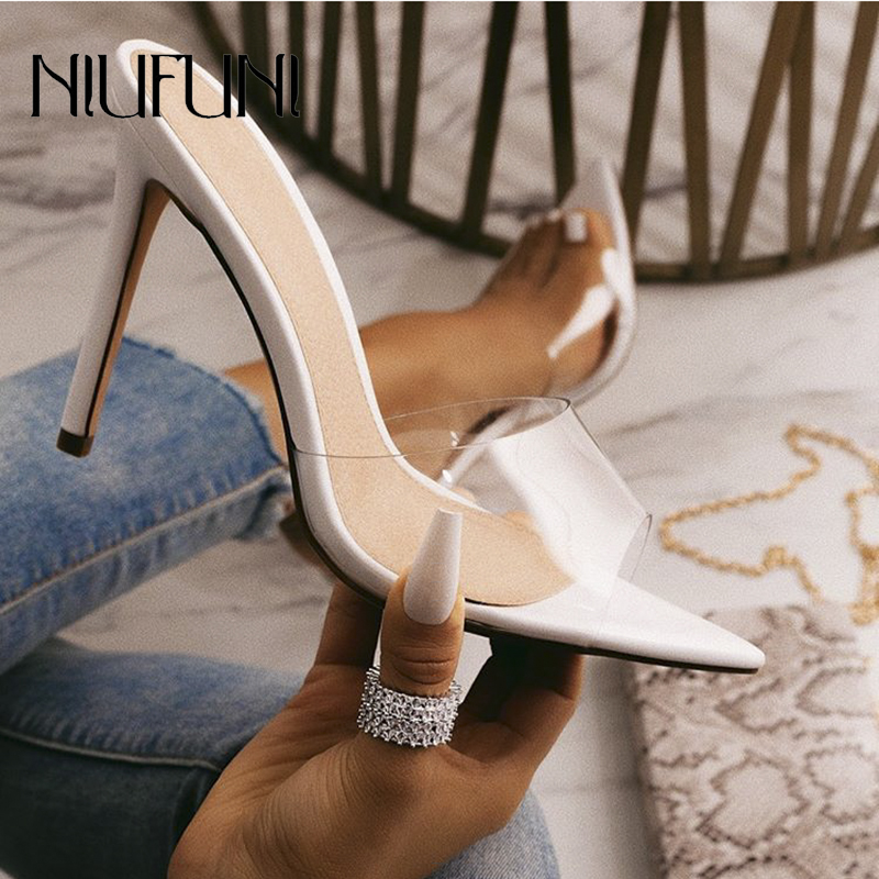 Pointed Peep Toe Women's Sandals
