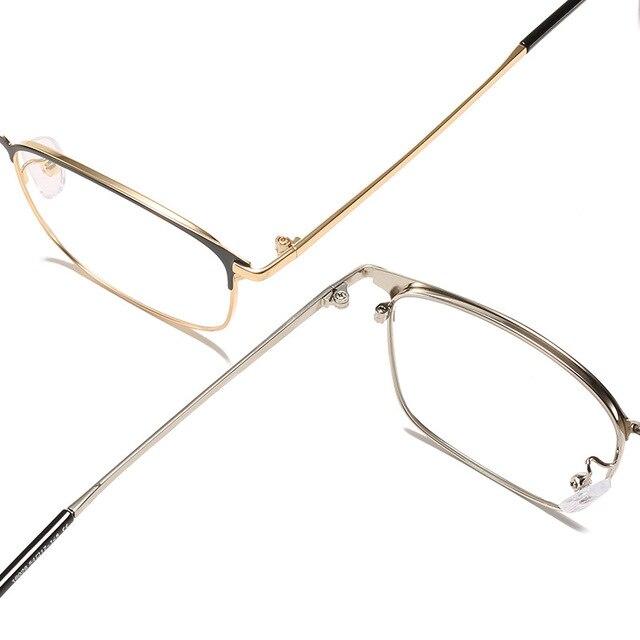 Фото очки против голубого излучения мужские бизнес стиль металлические