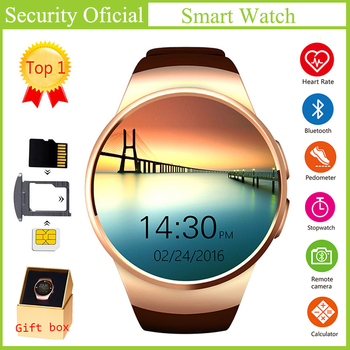 Smart Watch Touch Screen Support SIM TF Card Multilingual Bluetooth Smartwatch Remote Control Phone Heart Rate Sport Alarm Clock
