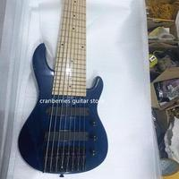 CUSTOM BASS Mini 8 strings ukelele bass guitar, ash wood body electric guitar,black hardware,Maple Fingerboard,free shipping