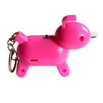 Whistle Key Finder Intelligent Voice Control Keychain Locator Cartoon Dog Keyfinder Anti-Lost Device image