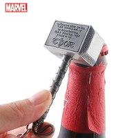 Marvel Keychain Korkenzieher Bier Flasche Dosenöffner Multifunktions Schild Thor Hammer Cosplay Schlüsselbund Zubehör Halter Charme Spielzeug