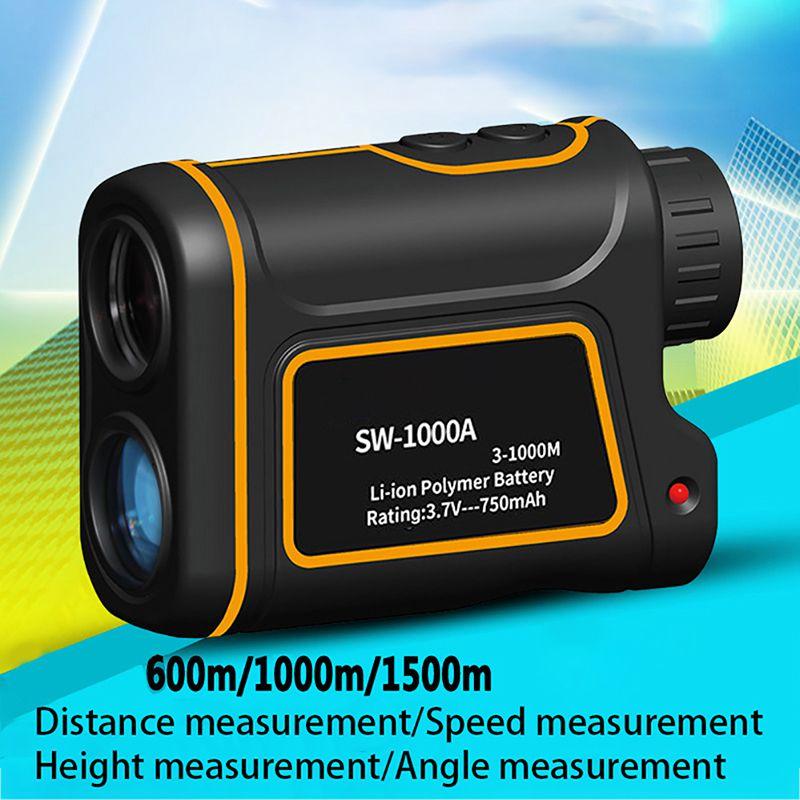 600 / 1000 / 1500 Meter Golf Rangefinders Waterproof Handheld Range Finder Outdoor Distance Yard Meter Measure Optics Tool