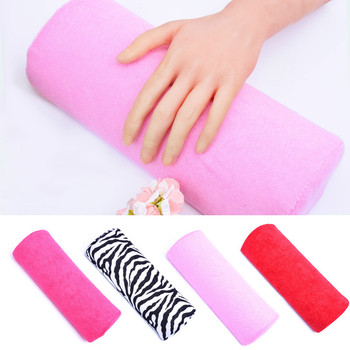 5 Colors Soft Hand Palm Rest Manicure Table Washable Hand Cushion Pillow Holder Arm Rests Nail Art Stand for Manicure Pillow 1