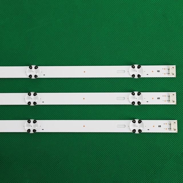 3 PCS LED Backlight strip for LG 43UJ635V 43UK6300PLB 43UJ651V 43UJ634V 43UJ630V 43UJ561V 43UJ655V LC43490059A LC43490058A 3