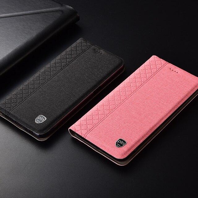 Etui dla Leagoo M11 M9 M8 M7 S10 S9 S8 Pro Power 2 5 w kratę w stylu płótno wzór skórzana klapka dla z7 T8S T5 etui na telefony