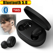 TWS Bluetooth 5.0 Wireless Earphones In-Ear Sports Noise Reduction Earbuds Automatic Pairing With Mic For Xiaomi Redmi iPhone цены